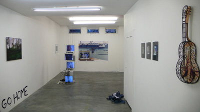 CUL DE SAC exhibition «This Is Not Vauxhall» gallery view